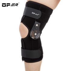 8d322a750c OPER Adjustable Medical Hinged Knee Orthosis Brace Support Ligament Sport  Injury Orthopedic Splint Osteoarthritis Knee Pain Pads-in Braces & Supports  from ...