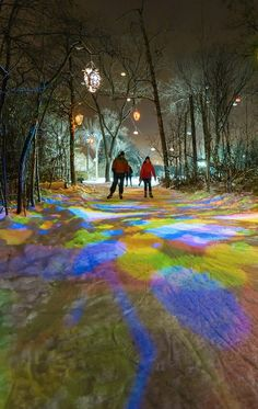 Edmonton Freezeway: the trippiest frozen-over trail in all of Canada.