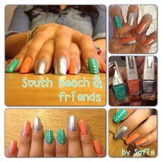 South Beach Nail Art