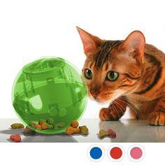 Jouet pour chat - Balle distributrice de nourriture SlimCat pour chats