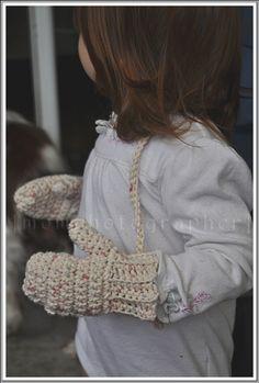DIY Baby Mittens - FREE Crochet Pattern / Tutorial