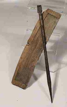 Ancient Roman stylus and wooden writing tablet;  EdgarLOwen.com ANCIENT ROMAN ART