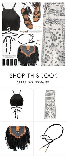 """Boho Style"" by pokadoll ❤ liked on Polyvore featuring Rosetta Getty and Kershaw"