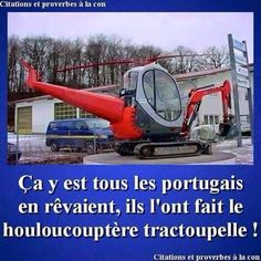 Houloucouptère tractoupelle