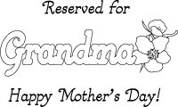 family mother 39 s day on pinterest placemat coloring and printables. Black Bedroom Furniture Sets. Home Design Ideas