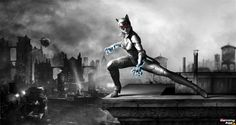 Catwoman  game character design model 3d best game femail girl