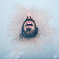 Fine Art Self Portraits by Guillaume Lamazou #inspiration #photography
