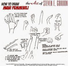 Kinart, lezioni di fumetto online!: Disegno 10: Steven E. Gordon, come disegnare le Mani