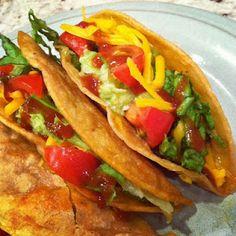 Crispy Ground Beef Tacos
