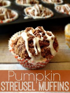 No ordinary muffin recipe here! These Pumpkin Streusel Muffins will blow your mind!