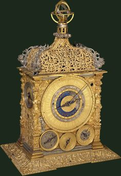 Table clock Attributed to Caspar Rauber, Germany c. 1575
