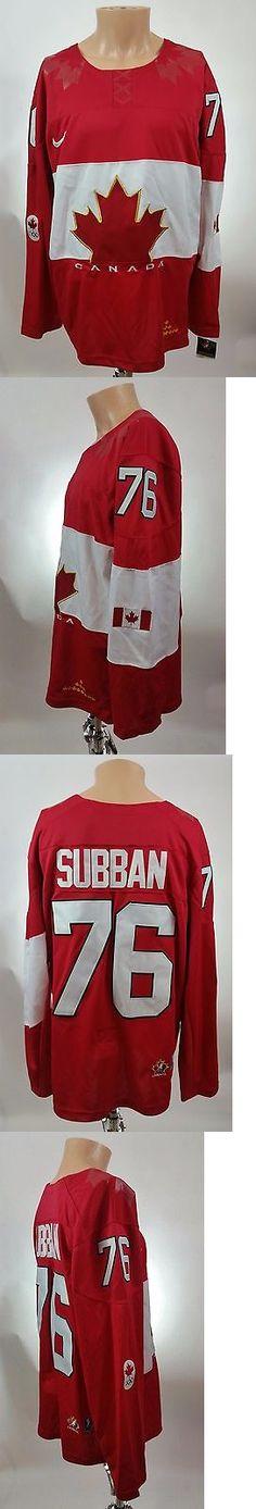 Hockey-Team Canada 2868: Team Canada 2014 Sochi Winter Olympics Pk Subban Red Hockey Jersey Size Xl -> BUY IT NOW ONLY: $150 on eBay!