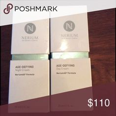 🆕 Nerium Age-Defying Day and Night Cream $140 value. Results Driven Nerium International. Nerium AD Formula. Age- Defying Day and Night Cream. In original packaging. Never opened. Nerium Other