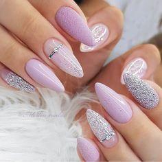 Pink Wedding Nails, Wedding Nails Design, Wedding Nails For Bride, Acrylic Nail Designs, Best Acrylic Nails, Nail Art Designs, Hot Nails, Swag Nails, Hair And Nails