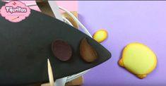 Cubre interruptor de goma eva con forma de león - Manualidades en Goma Eva y Foami Breakfast, Food, Jelly Beans, Shapes, Manualidades, Unicorn, Morning Coffee, Essen, Meals