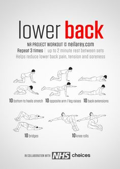 Instructions: Hold the stretch for one deep breath and return to the starting position. Repeat each move with no rest in between until the set is done. Download High Resolution .PDF poster