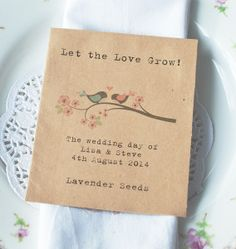 Great blog on Wedding Favours