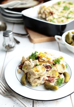Hungarian Potato Casserole (Vegan + GF) Delicious! I tried my own version of this.