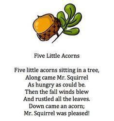 Five Little Acorns