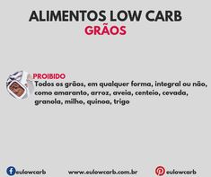 LOW CARB: ALIMENTOS PERMITIDOS, MODERADOS E PROIBIDOS Keto Diet Plan, Low Carb Diet, Ketogenic Diet, Dieta Low, Light Diet, Diets For Beginners, Low Carbon, Food And Drink, Health