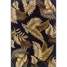 Oriental Weavers Sphinx Hudson Black Southwestern Rug - 1367C