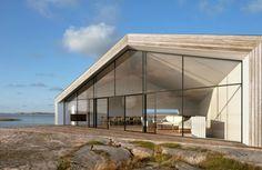 Minimalist architecture house - Klevens Udde by Wingårdh Arkitektontor