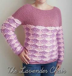 Craft Passions: Painted in Warmth Sweater..# free #crochet pattern...