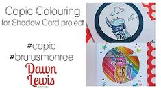 Dawn Lewis - YouTube Copic Markers, Copics, Cardmaking, Dawn, Coloring, Pure Products, Crafty, Youtube, Projects