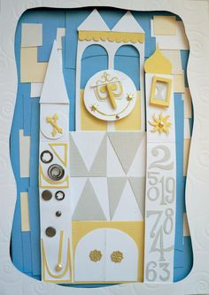 small world- HOW AWESOME would this be as a nursery door? or door to a childcare playroom? or kids church area?