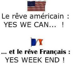Le rêve américain vs le rêve français