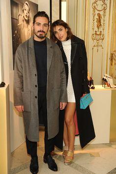 Giotto Calendoli; Patricia Manfield #Santoni #SantoniShoes #Santoni4Women #Fashion #MFW