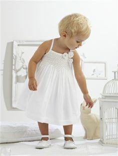 Vestido e calções, para bebé menina