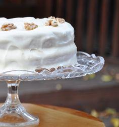 You'll be the star at the party if you make this World's BEST Banana Cake with Cream Cheese Frosting!
