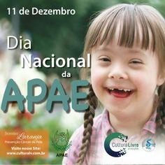 Dia Nacional da Apae #culturalivre #dianacionaldaapae #apae #pessoasespeciais #11dedezembro #dezembrolaranja #dezembro #somostodosiguais