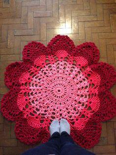 tapete doily - decoração elô bertô tricô