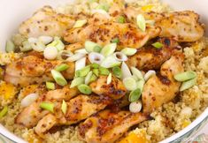 3 Post-Workout Meals That Lower Inflammation: Broiled Salmon with Pineapple Salsa and Green Tea Coconut Rice, Kale Caesar Salad with Grilled Shrimp Kale Caesar Salad, Post Workout Food, Workout Meals, Pineapple Salsa, Coconut Rice, Grilled Shrimp, Salmon Recipes, Paella, Fried Rice