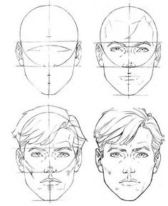 how to draw face - Google keresés