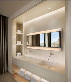 clean modern bathroom
