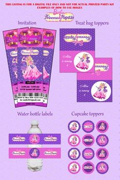 barbie princess and the popstar party supplies - Google Search