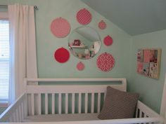 Pretty sure I'll end up with a teal/aqua nursery and just add yellow/lime/pink later.