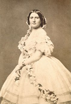 Harriet Rebecca Lane Johnston was born May 9, 1830 and died July 3, 1903. She was the niece of bachelor President James Buchanan, and acted as First Lady of the United States (1857 - 1861). She was one of the few women to hold the position of First Lady while not being married to the President