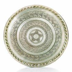 Marockansk bricka, silver, 60 cm - Prydnadsföremål - Inredningsdetaljer - Kategorier