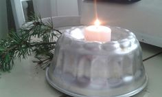 Vuoka ja kynttilä