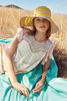 Fairland Stripe Sun Hat