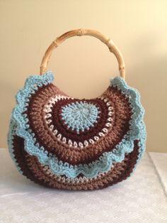 BOHO crochet bag. $30.00, via Etsy.