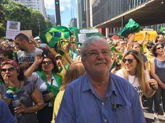 Gilberto Natalini teria sido agredido em protesto na Paulista