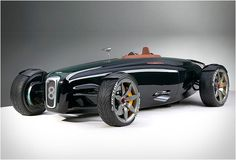 Bentley Bernato Roadster; Concept car by Ben Knapp Voilth