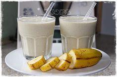 Bananen Vanille Milchshake      340 g sehr reife Bananenstücke gefroren   50 g Vanillezucker       10Sek./St.10      100 g Sahne   zuge...