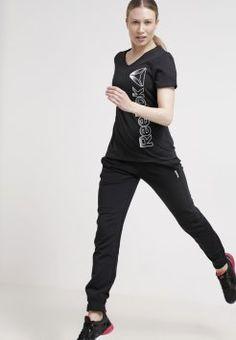 Reebok - ESSENTIALS - Treningsbukser - black