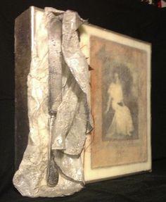 """My Mother's Treasures  Encaustics by Joy Lawson  12""""12"""""""